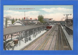 ETATS UNIS - New York, NEW ROCHELLE Gare (voir Descriptif) - NY - New York