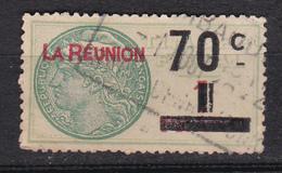 Réunion Timbre Fiscaux 70 Cts Oblitéré - Reunion Island (1852-1975)