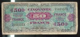 50 Francs France 1944 Sans Série - Trésor