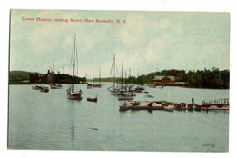 ETATS UNIS - New York, NEW ROCHELLE Lower Harbor - NY - New York