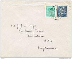 32028. Carta CALDAS Da Rainha (portugal) 1937. Balneario A England - 1910-... República