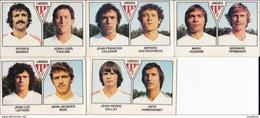 PANINI FOOTBALL 1979 LOT DE 5 IMAGES LIMOGES - Panini