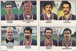PANINI FOOTBALL 1979 LOT DE 4 IMAGES CHATEAUROUX - Panini