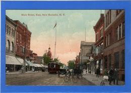 ETATS UNIS - New York, NEW ROCHELLE Main Street - NY - New York
