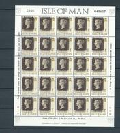 ISLE OF MAN, 1990, 150 Years Stamps 25v M/s MNH - Man (Ile De)