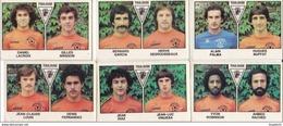 PANINI FOOTBALL 1979 LOT DE 6 IMAGES TOULOUSE - Panini