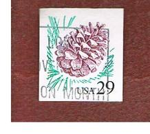 STATI UNITI (U.S.A.) - SG 2868  - 1993 PINE CONE (IMPERFORATED)  - USED - Used Stamps