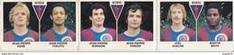 PANINI FOOTBALL 1979 LOT DE 3 IMAGES BEZIERS - Panini