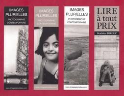 4 Marque Page Images Plurielles éditions.     Bookmark - Marque-Pages