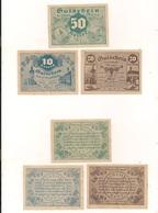 3 Notgeldscheine Retz 10, 20 + 50 H - Autriche