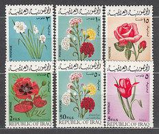 Irak - Correo Yvert 579/84 ** Mnh Flores - Iraq
