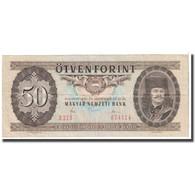 Billet, Hongrie, 50 Forint, 1980, 1980-09-30, KM:170d, TTB - Hongrie