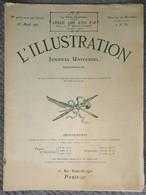 L'Illustration 4077 23 Avril 1921 Mathurin Méheut Temples Japonais/Mistinguett/Frédéric Masson/Allemagne/De Dion-Bouton - L'Illustration