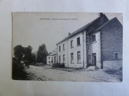 Tintigny / Rossignol, Maison Communale Et L'ecole - Tintigny