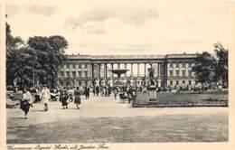 Pologne - Varsovie - Le Jardin Saxe - Poland