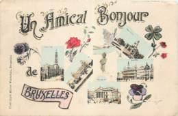 Un Amical Bonjour De Bruxelles - Edit. Marcovici - Belgique