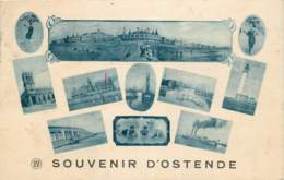 Fantaisie - Souvenir D' Ostende - Multi-vues - Oostende