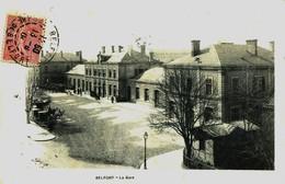 12901 - T  De  Belfort :  BELFORT    LA   GARE        Circulée En 1904 - Belfort - Ville