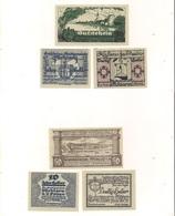 3 Notgeldscheine Pöchlarn 10, 30 + 50 H - Autriche