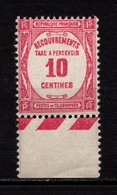 Taxe N° 56**, Bdf, Très Léger Défaut - 1859-1955 Neufs