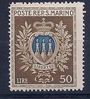 SAINT MARIN - 275  ARMOIRIES NEUF* MLH COTE 18 EUR - Saint-Marin