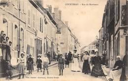 45-COURTENAY- RUE DU MARTINEAU - Courtenay