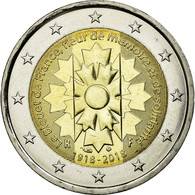 France, 2 Euro, 2018, SUP+, Bi-Metallic - France