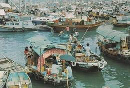 HONG KONG - FLOATING PEOPLE IN CASTLE PEAK BAY - Chine (Hong Kong)