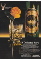 ORIGINAL 1981 MAGAZINE ADVERT FOR GLENFIDDICH WHISKY - Advertising