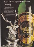 ORIGINAL 1979 MAGAZINE ADVERT FOR GLENFIDDICH WHISKY - Advertising
