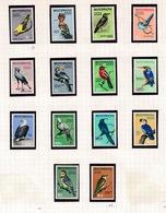 BOTSWANA    14 STAMPS BIRDS 1967   NEW  NEUF - Botswana (1966-...)