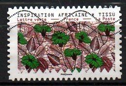 FRANCE. Timbre Adhésif Oblitéré De 2019. Tissu/Inspiration Africaine. - Textile