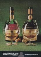 ORIGINAL 1973 MAGAZINE ADVERT FOR COURVOISIER COGNAC - Advertising
