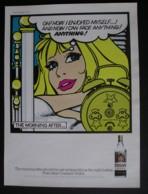 ORIGINAL 1971 MAGAZINE ADVERT FOR COSSACK VODKA - Advertising