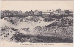 62. LE TOUQUET-PARIS-PLAGE. Vue Prise Des Dunes. 75 - Le Touquet