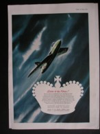ORIGINAL 1953 MAGAZINE ADVERT FOR HAWKER HUNTER AIRCRAFT - Advertising