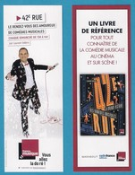 Marque Page 42ème RUE.  Marabout. France Musique. Radio France.     Bookmark - Marque-Pages