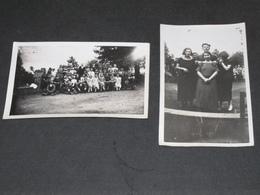 USINE Famille VAR(R)AS - Patrons Et Ouvrieres - 2 Photos N/b - Lieux