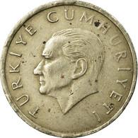 Monnaie, Turquie, 10000 Lira, 10 Bin Lira, 1998, TB+, Copper-Nickel-Zinc - Turquie