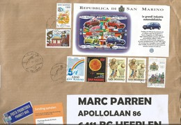 San Marino 2017 Faetano Volkswagen Beetle Marco Polo China Cooperation Basketball ESA Space Ulysses Cover - San Marino