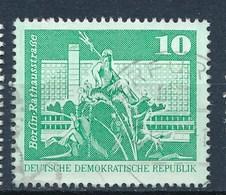 DDR Mi. 1843 Type II B Gest. Berlin Neptunbrunnen TGST Erfurt - DDR