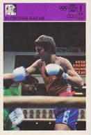 TH2095  ~~  SLOBODAN KACAR  --    YUGOSLAVIA, SERBIA  ~~   SVIJET SPORTA CARD - Boxsport