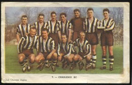 "Sporting Charleroi Chromo Chocolat Aiglon N° 7 ""Football"" - Aiglon"