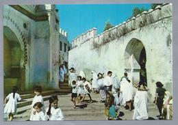 MA.- MAROC. TETOUAN. -(Arabisch: تطوان). Bab El Okla. Puerta Reina. Queens Door. Porte De La Reine. Ongelopen. - Marokko
