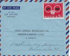 Nigeria - Airletter - Aerogramme. Sent To Germany. H-1568 - Nigeria (1961-...)