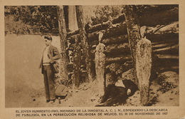 Persecusion Religiosa  Humberto Pro Fusilado Noviembre 23, 1927. Execution Capitale . Death Penalty - Mexique
