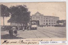Espanha -arenes 1 Postal + 1 Billete De Corrida 1903 - Madrid