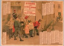 Bordeaux (33 Gironde) Calendrier 1894 LA GIRONDE LA PETITE GIRONDE (CAT 1343) - Formato Grande : ...-1900