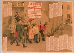 Bordeaux (33 Gironde) Calendrier 1894 LA GIRONDE LA PETITE GIRONDE (CAT 1343) - Calendriers