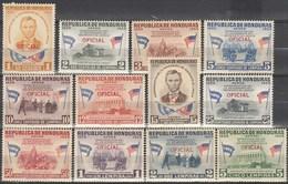 HONDURAS..1959..Michel # 199-210..MNH..Dienstmarken...MiCV - 13 Euro. - Honduras